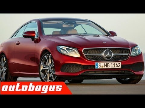 2018 Mercedes Benz E Class Coupe Interior and Exterior Design