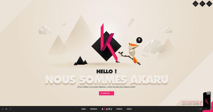 Agence communication digitale Lyon, agence web - Akaru