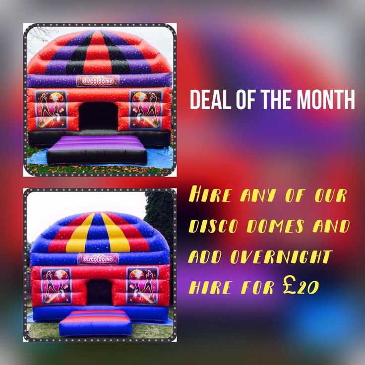check out our latest march offer (Disco dome fever ) https://www.firstchoicebouncycastlehire.co.uk/admin/content-news.aspx?id=47