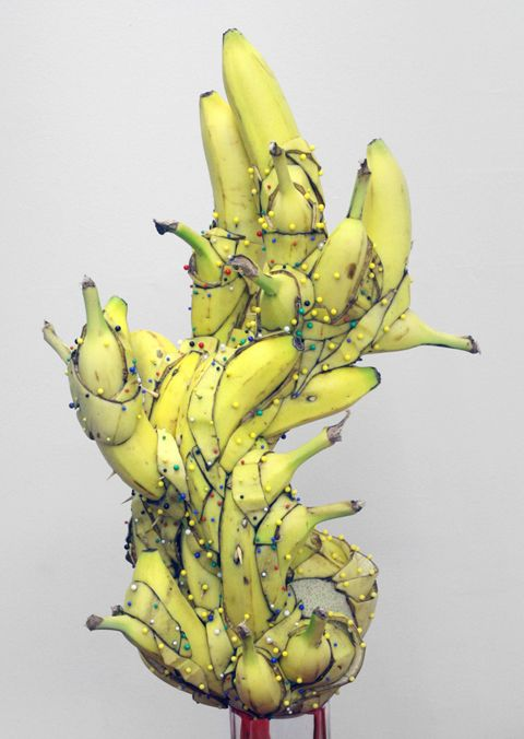 Fruit is an amazing series of banana sculptures by artist Matt James Stone. Born in 1979 in West Virginia, he is a sculptor who currently lives and works in Brooklyn, New York.'