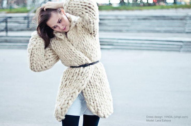 """Lera in the """"Cloudberry"""" - VINGIL fashion laboratory"""