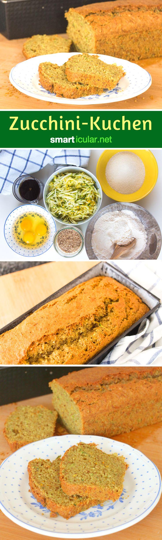Wenn du keine Lust mehr hast auf gekochte, gebratene und gebackene Zucchini, ist dieses Rezept für süßen Zucchini-Kuchen genau das Richtige. (Low Carb Dessert Recipes)
