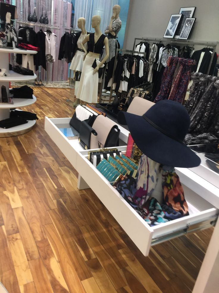 in the store, people can see different theme accessories. they are separate. people can find what feel they want easy.