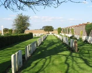 BUSIGNY COMMUNAL CEMETERY EXTENSION