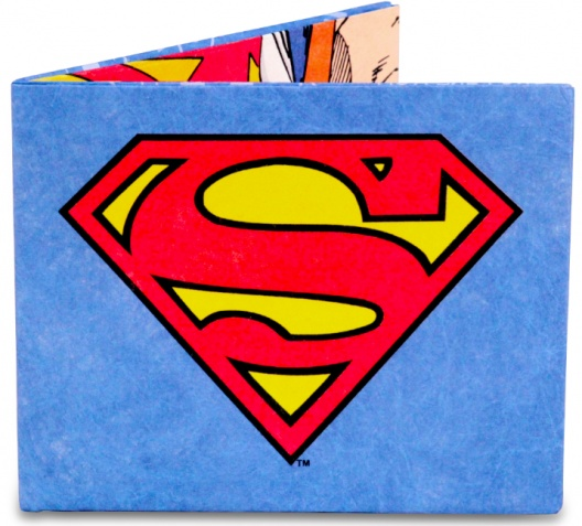 Superman Wallet for Boys and Men - $16.00