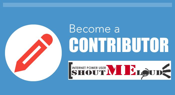 Become ShoutMeLoud Contributor
