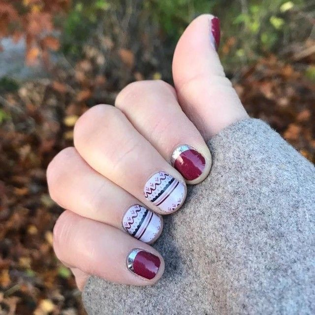 Give Thanks and Ruby Dreams Jamberry wraps--beautiful!  #nailart #shopping #nail #nails #nailsalons #naildesign #naildesigns #nailproducts #nailproductsupplier  #beautytrends #pamperyourself