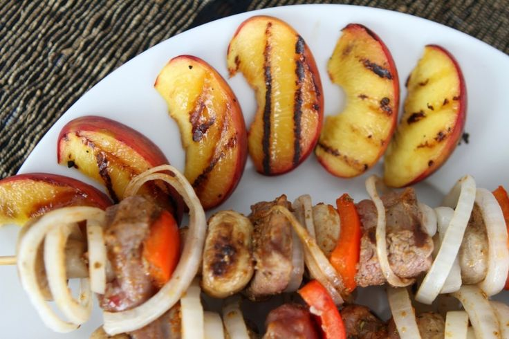 Summer barbecue: lamb sirloin shashlik!