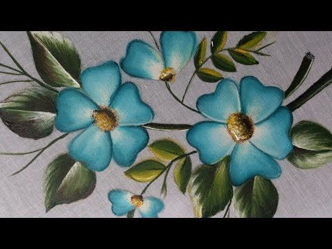 Fabric painting tutorial for beginners fabric painting on