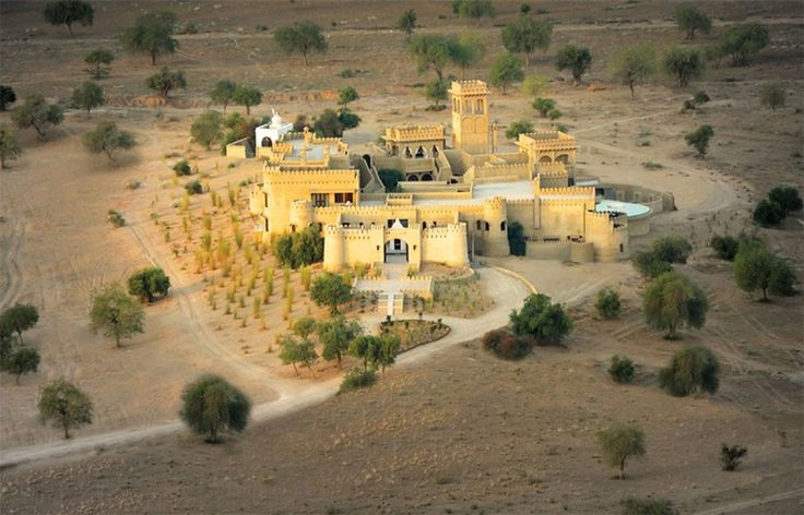 "Credit: PR Mihir Garh, Rajasthan  ""The fort sits in splendid isolation amid th..."