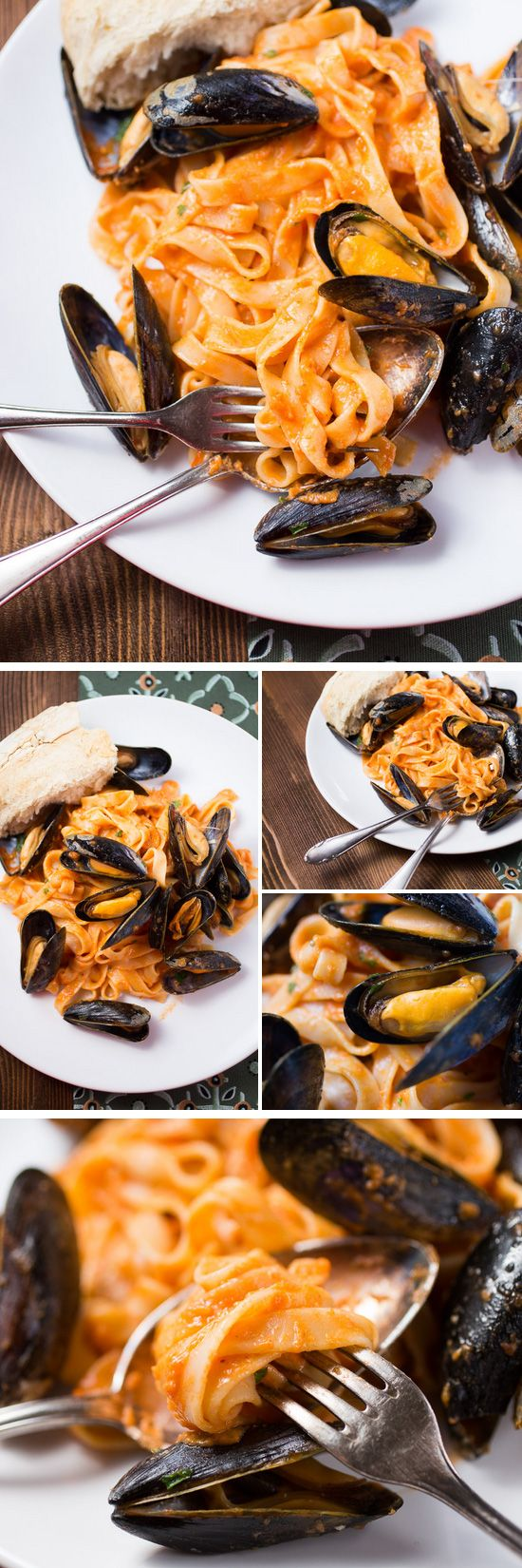 Tagliatelle with Blue Mussels | Click Pic for 22 Easy Romantic Dinner Recipes for Two | Easy Valentines Dinner Ideas for Him