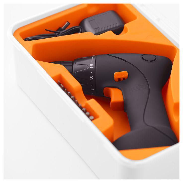IKEA - FIXA Screwdriver/drill, lithium-ion