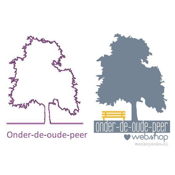 Logo restyling for Onder de Oude Peer (webshop) by http://ankepanke.nl