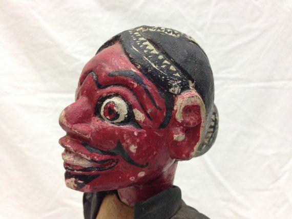 Wayang Golek Puppet Antique from Java by EthnicArtandJewelry, $99.95