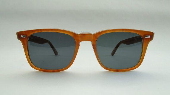 Occhiale Vintage uomo anni '80 di Puntidivi su Etsy #foca #vintage #sunglasses #honey #'80