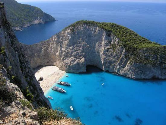 Shipwreck, Zakynthos Greece