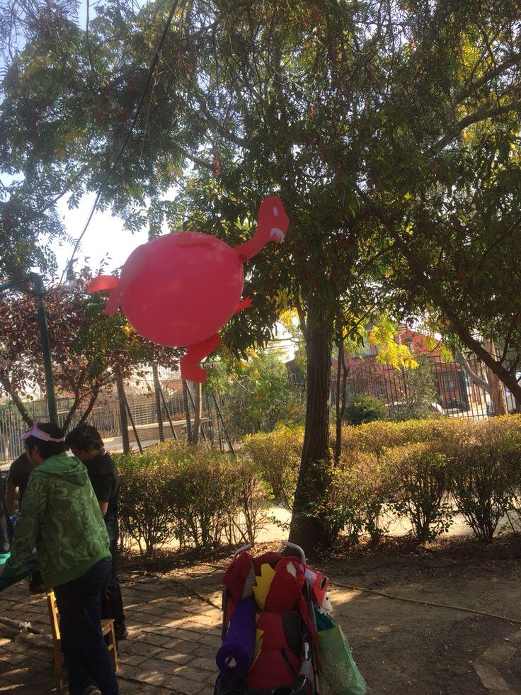 Dino globos