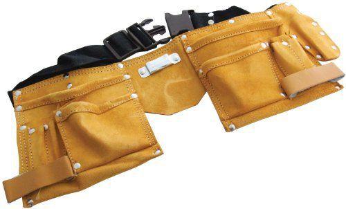 Am-Tech Ceinture porte-outils économique en cuir 11 poches: Price:13.38Porte-outils en cuir véritable Ceinture en filet de nylon ajustable…