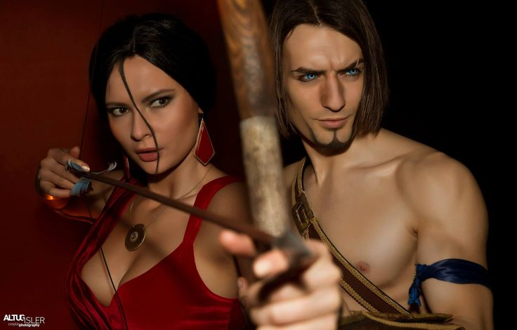 Prince of Persia and Farah ~ Prince of Persia - The Sands of Time