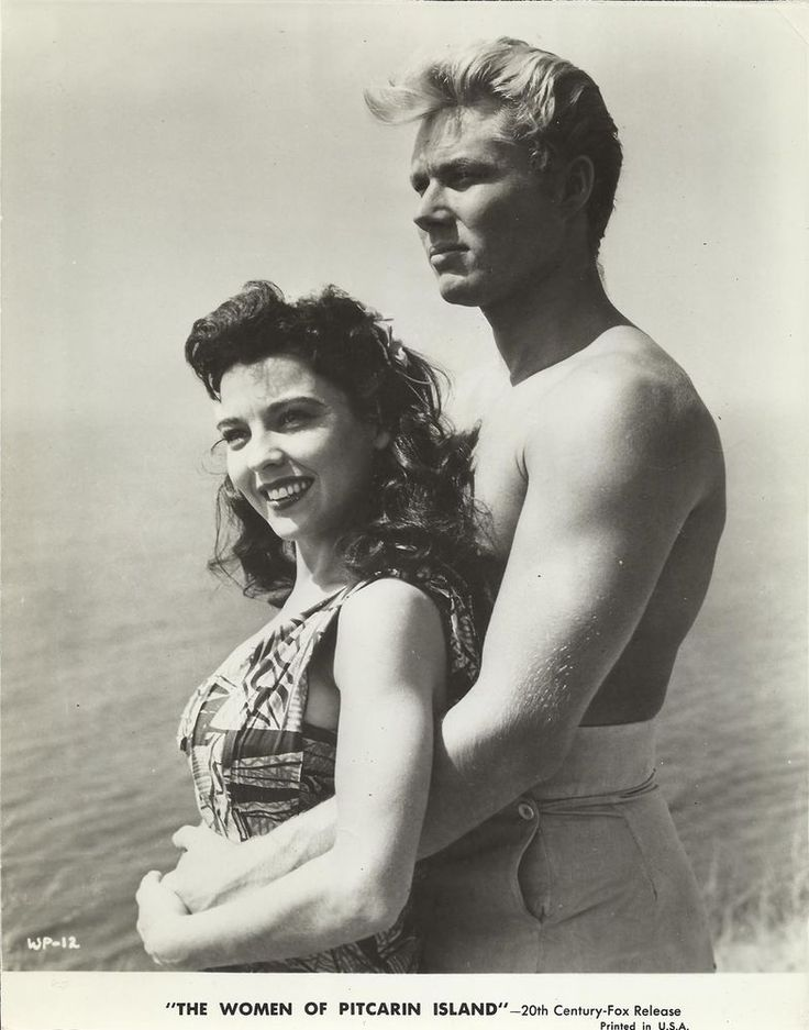 "LYNN BARI & JOHN SMITH in ""The Women of Pitcairn Island"" Orig.Vintage Photo…"