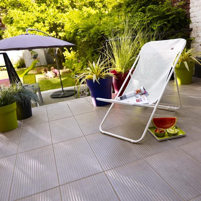 8 best wall \ déco + sol effet beton images on Pinterest Wall - peindre une terrasse en beton