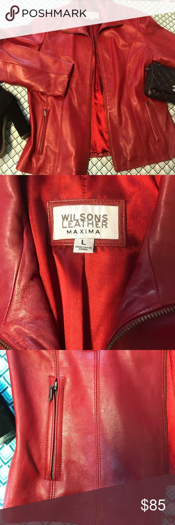WILSON'S 100 LEATHER Maxima jacket Wilsons leather