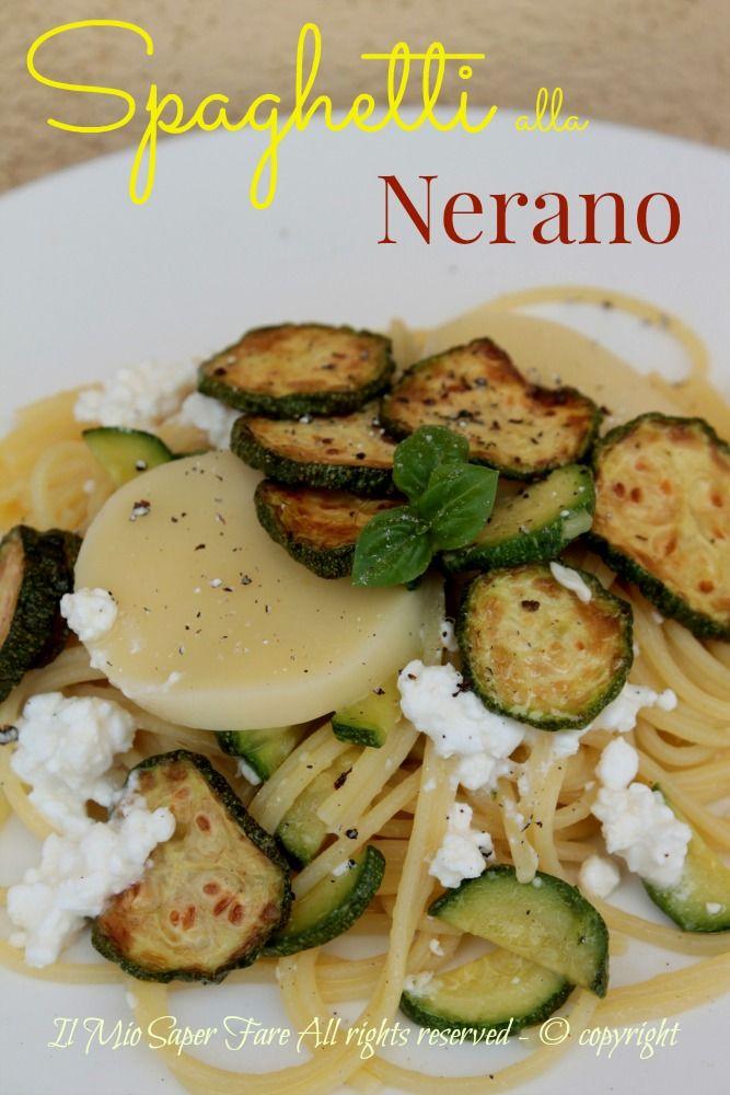 Spaghetti alla Nerano primo piatto facile
