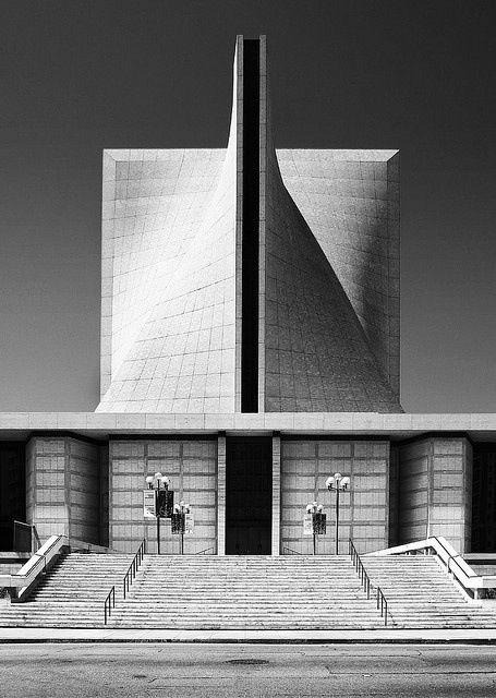 Cathedral, Pier Luigi Nervi Pietro Belluschi, San Francisco