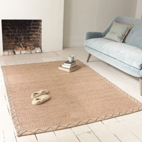 CINNABAR: Super-practical whilst exuding loads of character. Our rug weavers have shown their true hand here.