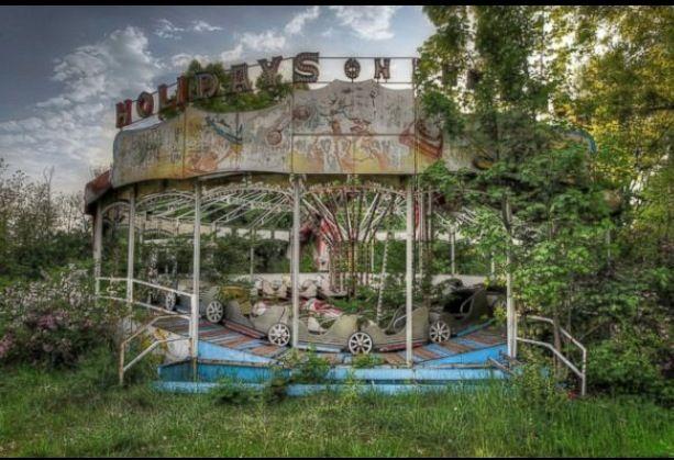 Abandoned amusement park #1