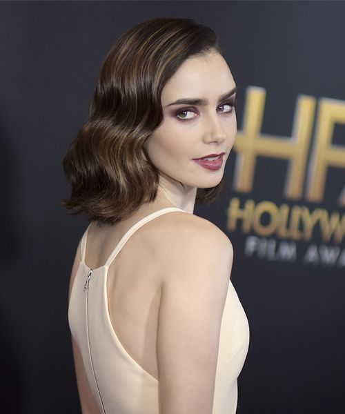 Lily Collins attends the 20th Annual Hollywood Movie Awards in Los Angeles - 11.06.16.