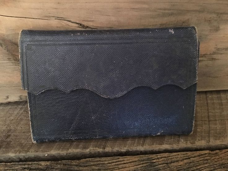 A personal favorite from my Etsy shop https://www.etsy.com/listing/512731044/antique-pocket-diary-from-1800s-1892