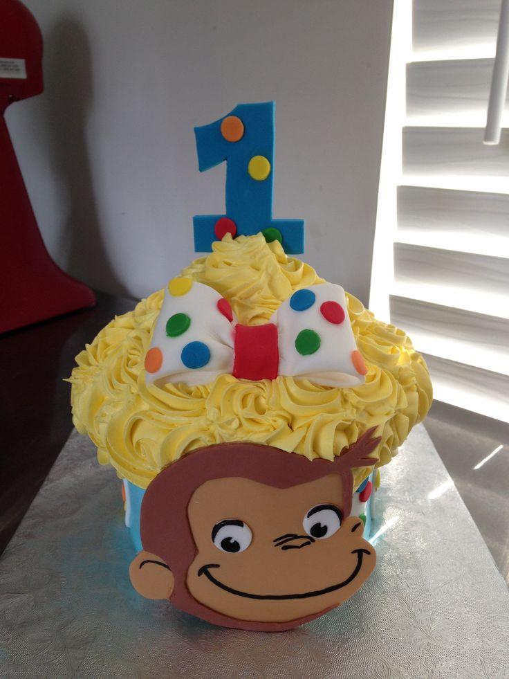 https://flic.kr/p/L4fExe   Curious George Cupcake Cake