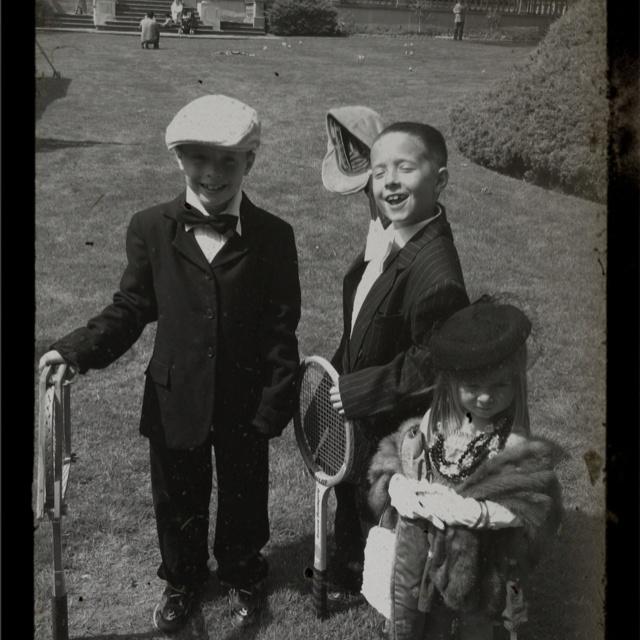 Vintage pic of my kids