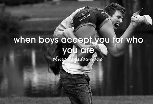 Cutest Couple Quotes | accept you, acept, boys, couple, cute - inspiring picture on Favim.com