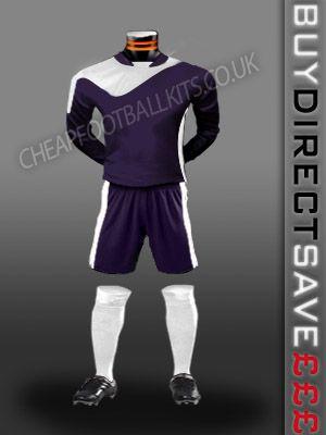 Legend Discount Football Kit Purple/White