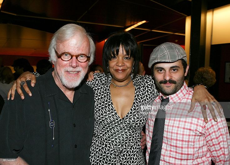 Cast member Kevin Tighe, Composer Kathryn Bostic and cast member Arian Moayed pose during the opening night party for 'Bengal Tiger at the Baghdad Zoo' at the CTG/Kirk Douglas Theatre on May 17, 2009 in Culver City, California.