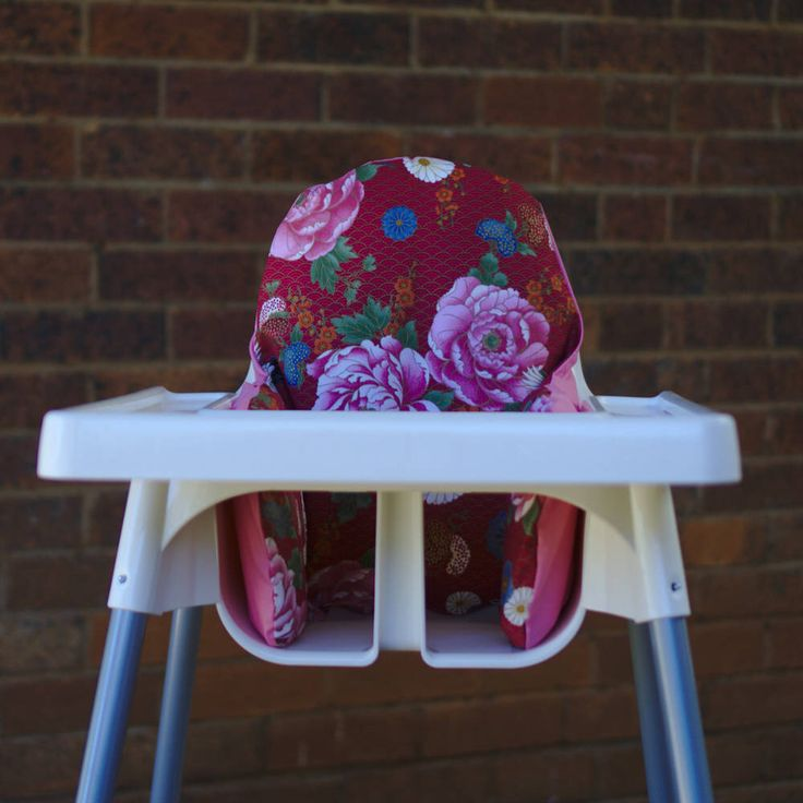 Birthday High Chair Cover To Fit IKEA Antilop Highchair Pyttig Cushion Insert - Oriental Flower Pink - 100% Cotton Fabric - Pear of Stitches by PearOfStitches on Etsy https://www.etsy.com/au/listing/494417178/birthday-high-chair-cover-to-fit-ikea