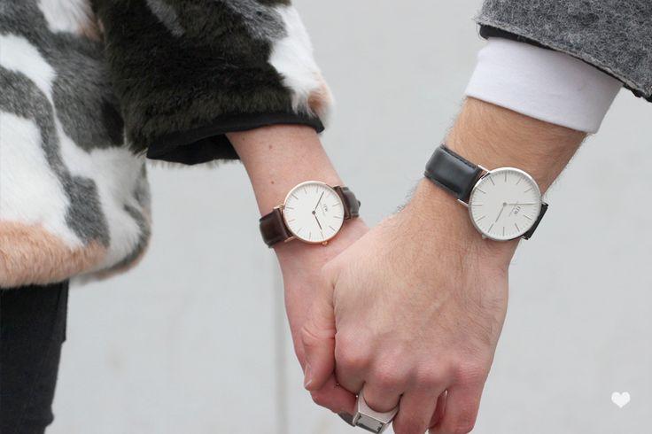 Coup de coeur pour les montres Daniel Wellington ! Simples, épurées et stylées…