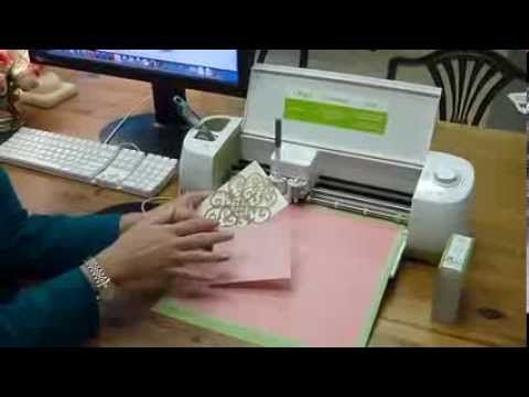 Anna Griffin shows you around Cricut Explore.