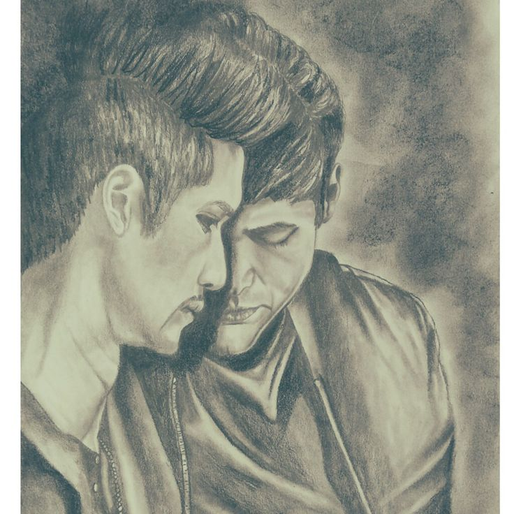 Drawing Malec Shadowhunters