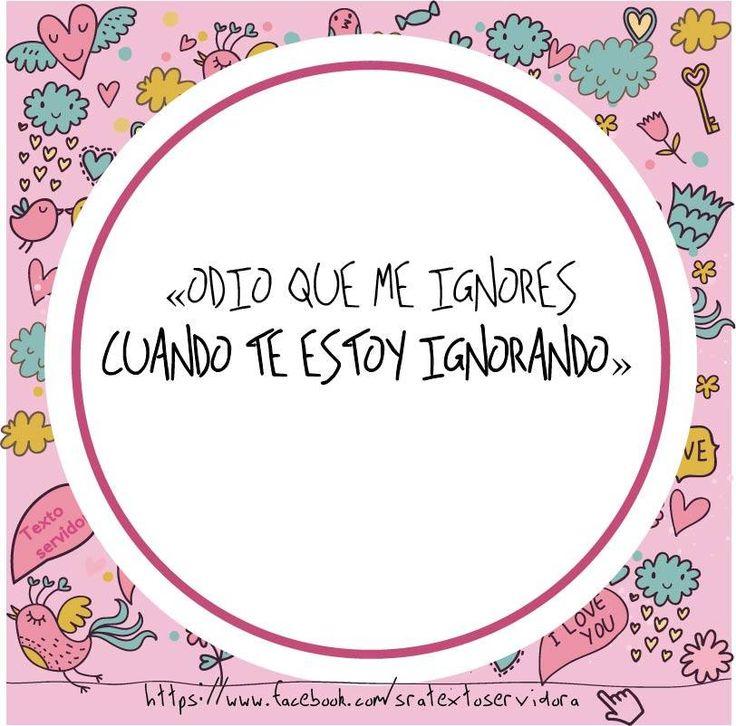 Lo odio  #Textoservidora  https://www.facebook.com/sratextoservidora