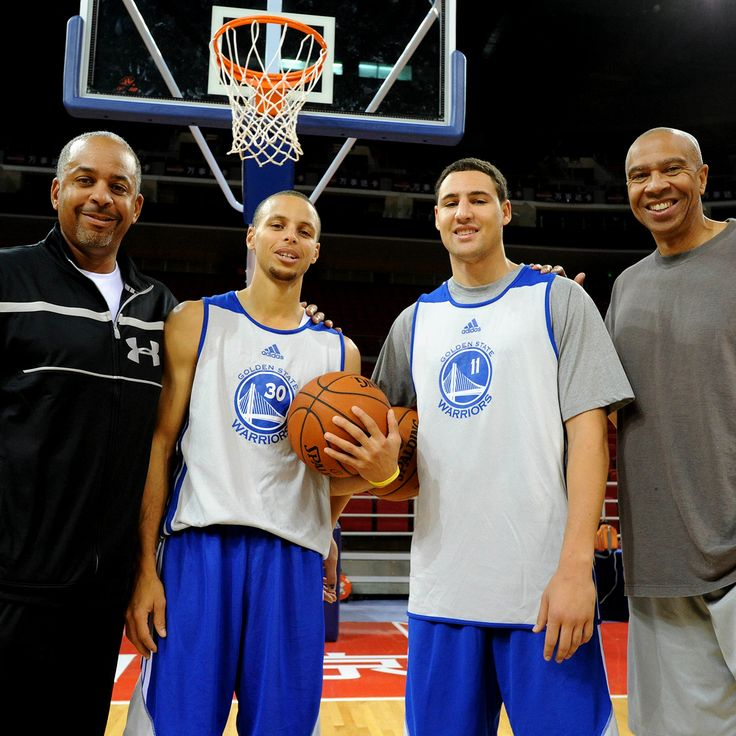 The Splash Fathers know best | splash brothers stepg curry klay thompson golden state warriors gsw