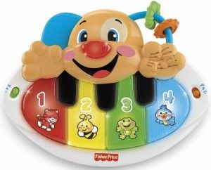 Fisher Price Toys 6-12 Months: Laugh and Learn Puppy Piano with Bonus CD Great variety, many buttons and educational. It teaches colors, numbers, animals, animal sounds, parts of the face, greetings and first words with Puppy's Piano. http://awsomegadgetsandtoysforgirlsandboys.com/fisher-price-toys-6-12-months/ Fisher Price Toys 6-12 Months: Laugh and Learn Puppy Piano with Bonus CD