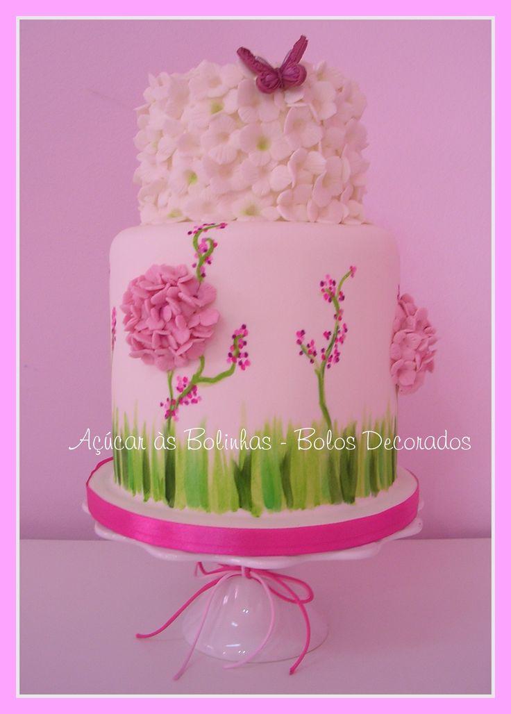 I love the green at the bottom: Feeling Cake, Pretty Cake, Amazing Cakes, Feelings Cake, Cake Ideas, Cakes Cakes, Summer Cakes, Summer Feelings