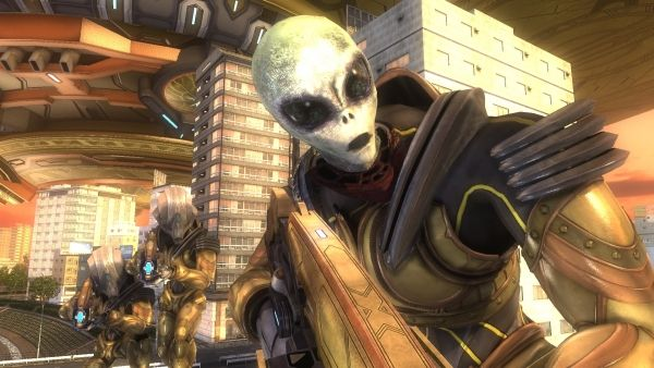 Earth Defense Force 5 details new actions giant grey aliens and mysterious monsters - Gematsu #Playstation4 #PS4 #Sony #videogames #playstation #gamer #games #gaming
