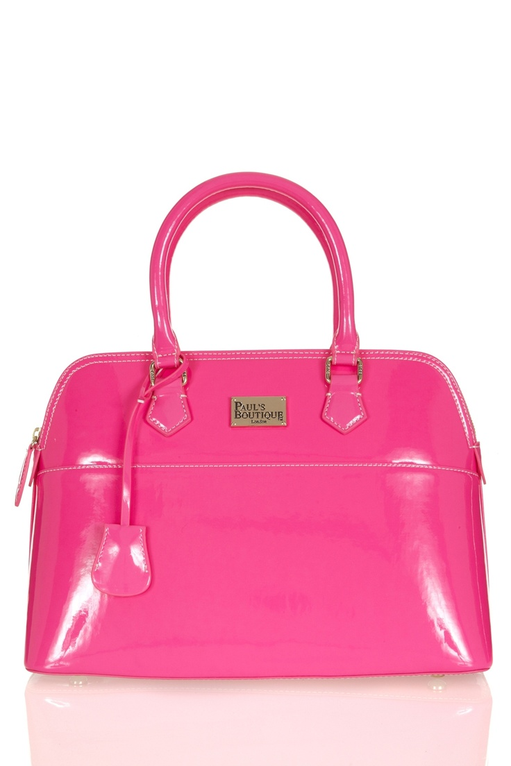 Paul's Boutique | Maisy Large Bag in neon pink | Paul's Boutique Official Website