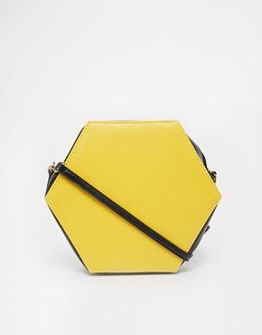 Sac ovale jaune