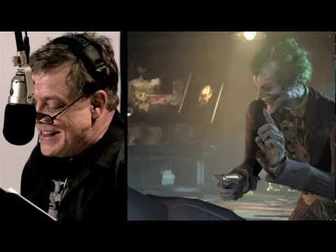 I've known for a long time Mark Hamill does the voice of the Joker, but to see him perform it is kind of scary.. and amazing.