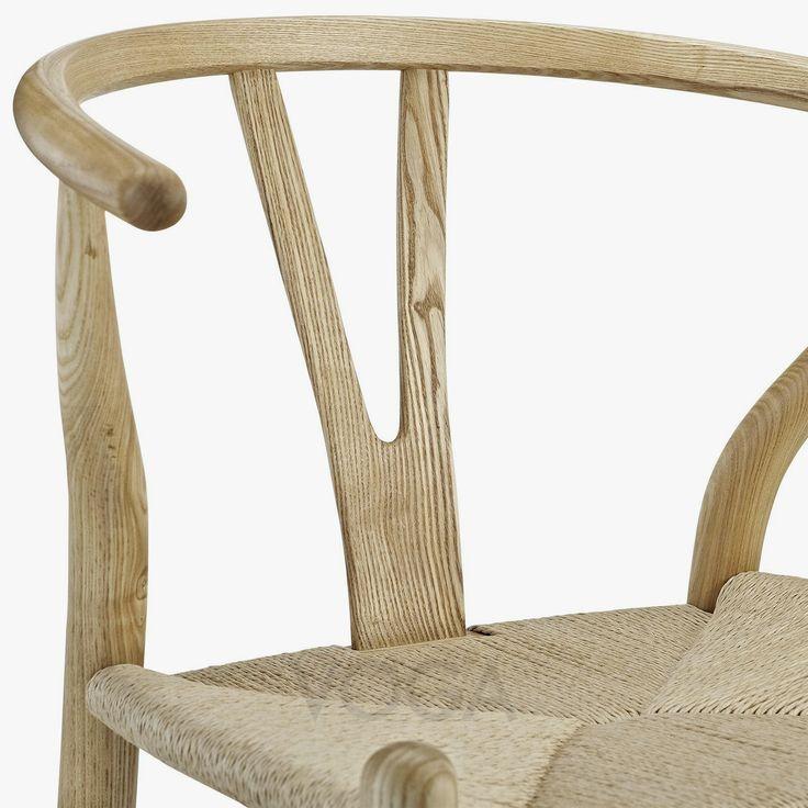 Silla Wishbone inspirada en Hans J. Wegner